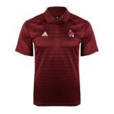 Adidas Climalite Cardinal Jaquard Select Polo-Cardinal