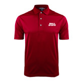 Cardinal Dry Mesh Polo-Ball State Stacked