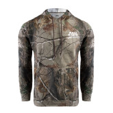 Realtree Camo Fleece Hoodie-Ball State Stacked