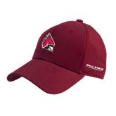 Cardinal Heavyweight Twill Pro Style Hat-Cardinal