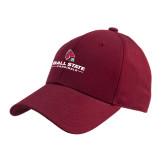 Cardinal Heavyweight Twill Pro Style Hat-Ball State Cardinals w/ Cardinal