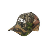 Mossy Oak Camo Structured Cap-Ball State Stacked