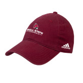 Adidas Cardinal Slouch Unstructured Low Profile Hat-Ball State Cardinals w/ Cardinal