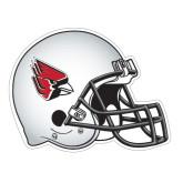 Football Helmet Magnet-Cardinal