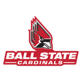 Extra Large Magnet-Ball State Cardinals w/ Cardinal, 18 inches wide
