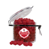 Sweet & Sour Cherry Surprise Round Canister-Cardinal