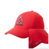 NIKE Red Swoosh Flex Hat-
