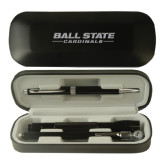 Black Roadster Gift Set-Ball State Cardinals Engraved
