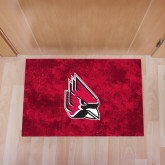 Full Color Indoor Floor Mat-Cardinal