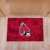 Full Color Indoor Floor Mat-Cardinal
