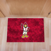 Full Color Indoor Floor Mat-Charlie The Cardinal
