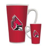 Full Color Latte Mug 17oz-Cardinal