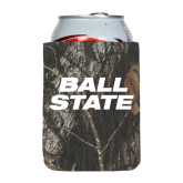Collapsible Mossy Oak Camo Can Holder-Ball State Stacked