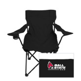 Deluxe Black Captains Chair-Dad