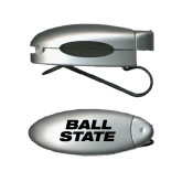 Silver Bullet Clip Sunglass Holder-Ball State Stacked