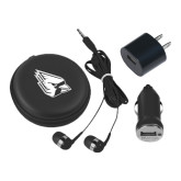 3 in 1 Black Audio Travel Kit-Cardinal