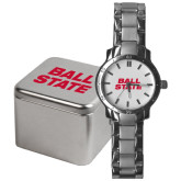 Mens Stainless Steel Fashion Watch-Ball State Stacked