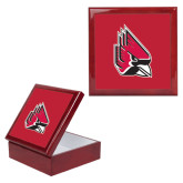 Red Mahogany Accessory Box With 6 x 6 Tile-Cardinal