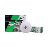Nike Power Distance Golf Balls 12/pkg-Cardinal