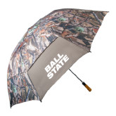 58 Inch Hunt Valley Camo Umbrella-Ball State Stacked