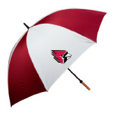 Cardinal/White Umbrella-Cardinal