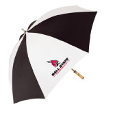 Black/White Umbrella-Ball State Cardinals w/Cardinal