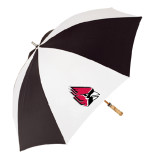 62 Inch Black/White Umbrella-Cardinal