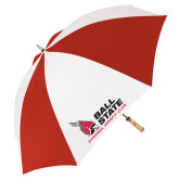 Red/White Umbrella-Cardinal Varsity Club