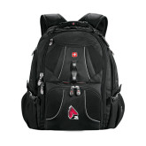 Wenger Swiss Army Mega Black Compu Backpack-Cardinal