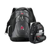 Wenger Swiss Army Tech Charcoal Compu Backpack-Cardinal