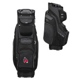 Nike Black Sport Cart III Bag-Cardinal