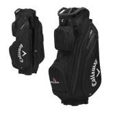Callaway Org 14 Black Cart Bag-Cardinal Head Ball State Cardinals