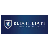 4 x 10  Generic Banner-Beta Theta Pi- Men of Principle