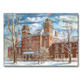 5 x 7 Photographic Print-Old Main Watercolor