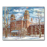 8 x 10 Photographic Print-Old Main Watercolor