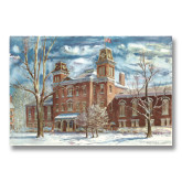 15 x 20 Photographic Print-Old Main Watercolor