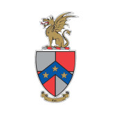 Small Decal-Coat of Arms, 6 in W