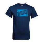 Navy T Shirt-Beta Theta Pi Triangles
