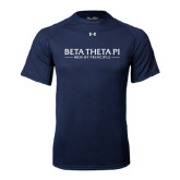 Under Armour Navy Tech Tee-Beta Theta Pi
