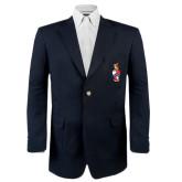 Classic Navy Blazer Long-Crest