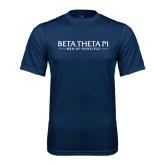 Performance Navy Tee-Beta Theta Pi