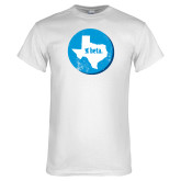 White T Shirt-Texas