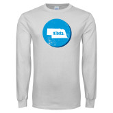 White Long Sleeve T Shirt-Nebraska