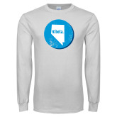 White Long Sleeve T Shirt-Nevada