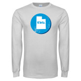 White Long Sleeve T Shirt-Utah