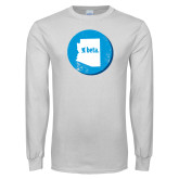 White Long Sleeve T Shirt-Arizona