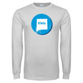 White Long Sleeve T Shirt-New Mexico