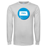 White Long Sleeve T Shirt-Kansas