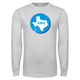 White Long Sleeve T Shirt-Texas