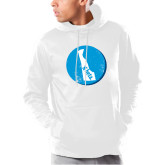 Under Armour White Armour Fleece Hoodie-Delaware